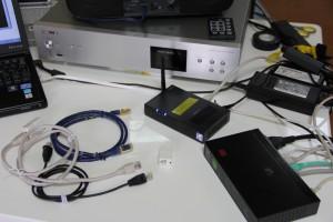ネットワークオーディオのノイズ混入実験