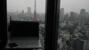 高いビルで無線LANを観測